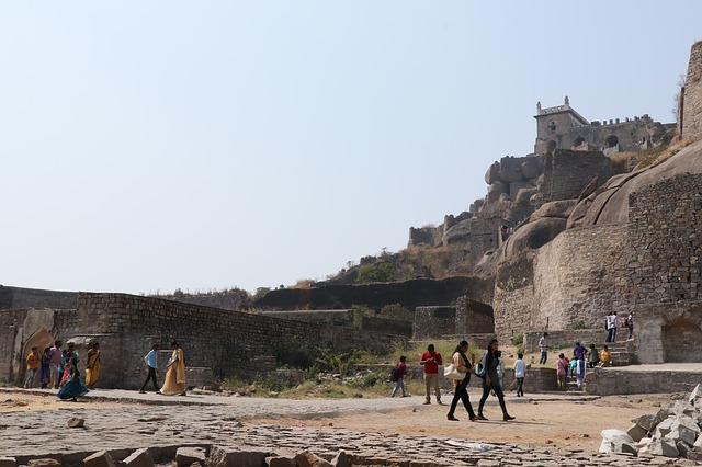 Tourist places-Golconda Fort of Hyderabad