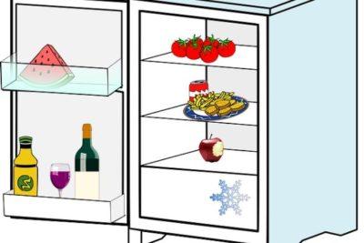 junk food in your fridge